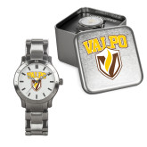 Mens Stainless Steel Fashion Watch-Stacked Valpo Shield
