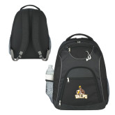 The Ultimate Black Computer Backpack-Official Logo