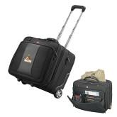 Wenger Transit Wheeled Black Compu Briefcase-Official Logo