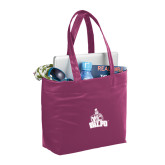 Fine Society Berry Computer Tote-Official Logo