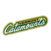 Large Decal-Slanted Vermont Catamounts, 12 in W