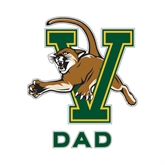 Dad Decal-Official Logo, 6 in W