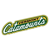 Extra Large Decal-Slanted Vermont Catamounts, 18 in W