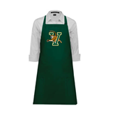 Full Length Dark Green Apron-Official Logo