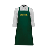 Full Length Dark Green Apron-Arched Vermont Catamounts