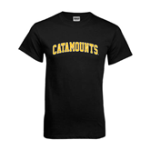 Black T Shirt-Arched Catamounts