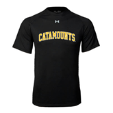 Under Armour Black Tech Tee-Arched Catamounts