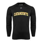 Under Armour Black Long Sleeve Tech Tee-Arched Catamounts