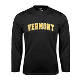 Syntrel Performance Black Longsleeve Shirt-Arched Vermont