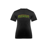 Youth Syntrel Performance Black Training Tee-Arched University of Vermont