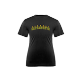 Youth Syntrel Performance Black Training Tee-Arched Vermont Catamounts
