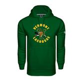 Under Armour Dark Green Performance Sweats Team Hoodie-Lacrosse