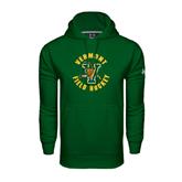 Under Armour Dark Green Performance Sweats Team Hoodie-Field Hockey