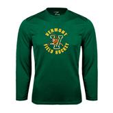 Syntrel Performance Dark Green Longsleeve Shirt-Field Hockey