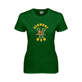 Ladies Dark Green T Shirt-Mom