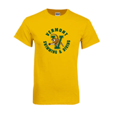 Gold T Shirt-Swimming and Diving