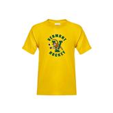 Youth Gold T Shirt-Hockey