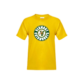 Youth Gold T Shirt-Vermont Catamounts Circle