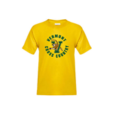 Youth Gold T Shirt-Cross Country