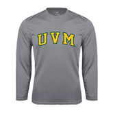Syntrel Performance Steel Longsleeve Shirt-Arched UVM