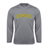 Syntrel Performance Steel Longsleeve Shirt-Arched Catamounts