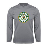 Syntrel Performance Steel Longsleeve Shirt-Vermont Catamounts Circle