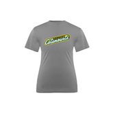 Youth Syntrel Performance Steel Training Tee-Slanted Vermont Catamounts
