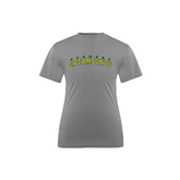 Youth Syntrel Performance Steel Training Tee-Arched Vermont Catamounts