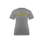 Youth Syntrel Performance Steel Training Tee-Arched Catamounts