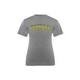 Youth Syntrel Performance Steel Training Tee-Arched University of Vermont