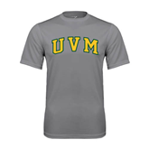 Performance Grey Concrete Tee-Arched UVM