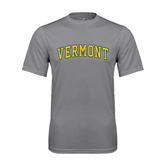 Performance Grey Concrete Tee-Arched Vermont