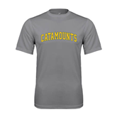 Performance Grey Concrete Tee-Arched Catamounts