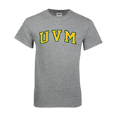 Grey T Shirt-Arched UVM