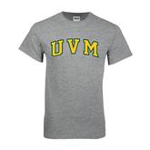 Grey T Shirt-Arched UVM
