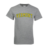 Grey T Shirt-Arched Vermont