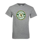Grey T Shirt-Vermont Catamounts Circle