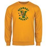 Gold Fleece Crew-Hockey