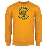Gold Fleece Crew-Lacrosse