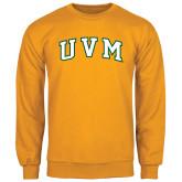 Gold Fleece Crew-Arched UVM