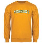 Gold Fleece Crew-Arched Vermont