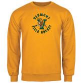 Gold Fleece Crew-Field Hockey