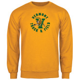 Gold Fleece Crew-Track and Field