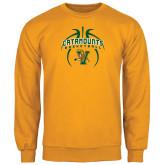 Gold Fleece Crew-Basketball in Ball Design