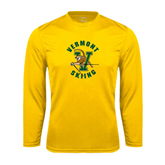 Syntrel Performance Gold Longsleeve Shirt-Skiing