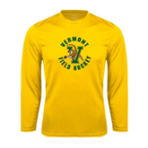Syntrel Performance Gold Longsleeve Shirt-Field Hockey