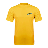 Syntrel Performance Gold Tee-Slanted Vermont Catamounts