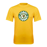 Syntrel Performance Gold Tee-Vermont Catamounts Circle