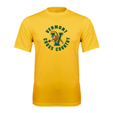 Syntrel Performance Gold Tee-Cross Country