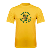 Syntrel Performance Gold Tee-Track and Field